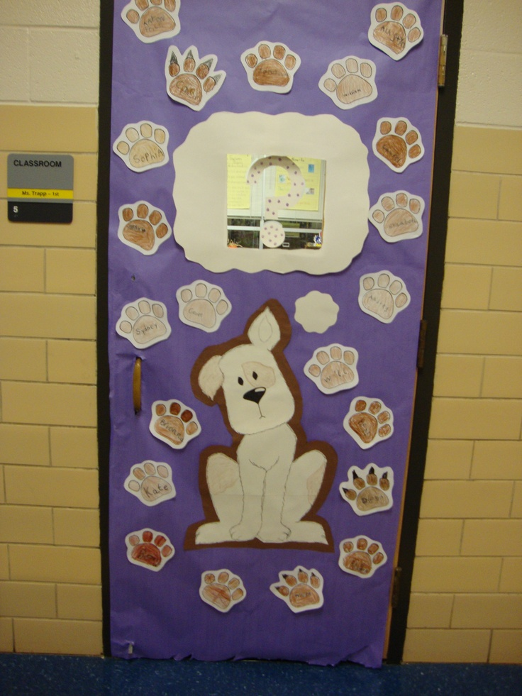 "I did this for red ribbon week.  A poster next to it read, ""Paws and think.  Doing drugs stinks!""  Each paw on the door was colored by a student and it had his or her name on it.: Drugs Stink, Doors Decor, Poster Ideas, Decor Myclassroomidea, Bulletin Boards, Posters Ideas, Classroom Doors, Red Ribbons Week, Anti Drugs Doors"