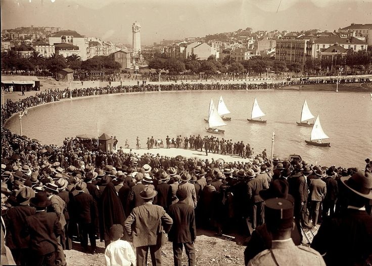 Line of Beauty: Regata at Eduardo VII Park, Lisbon, 1932
