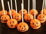 Halloween Pumpkin Cake Pops picture