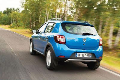 Trasera del Dacia Sandero Stepway Dacia Sandero Stepway, un éxito de ventas gracias a su excepcional relación calidad precio http://www.cochesymotos10.es/2017/06/dacia-sandero-stepway.html #coches #motor #dacia