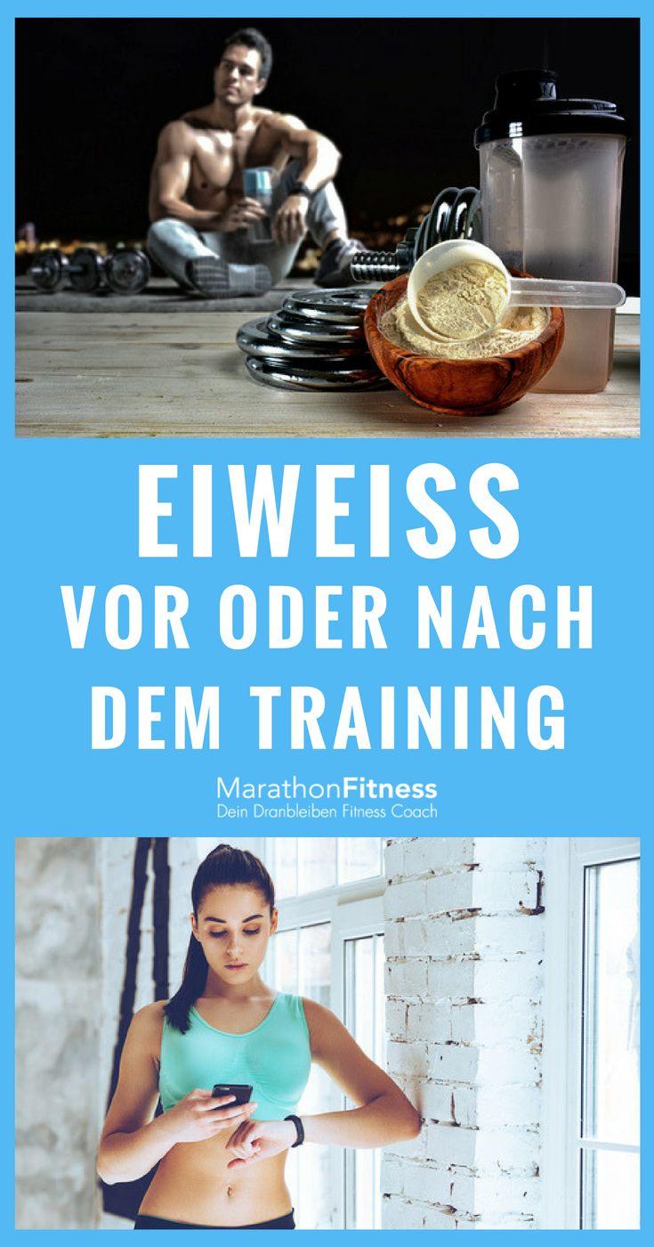 Protein Vor Oder Nach Dem Training