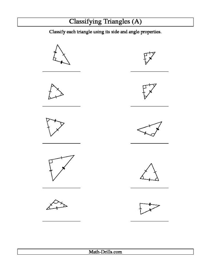 Best 25+ Classifying triangles ideas on Pinterest