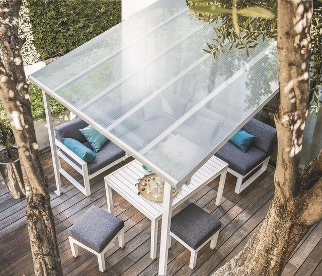 Pergolas, abris de jardin pour se protéger du soleil en terrasse