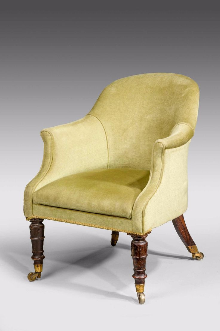 Antique tub chairs - Regency Period Tub Chair C 1820