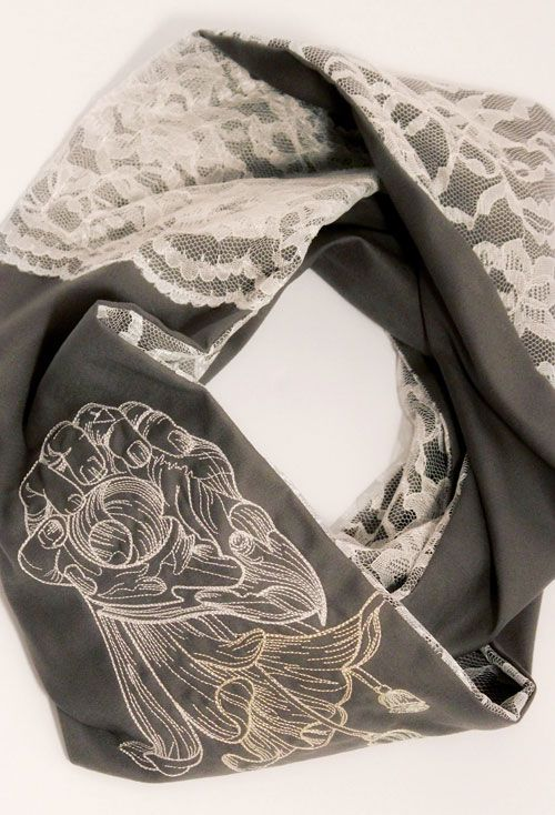 Tie scarf and shawl erieairfair diy scarves do it yourself crafts pinterest awesome solutioingenieria Images