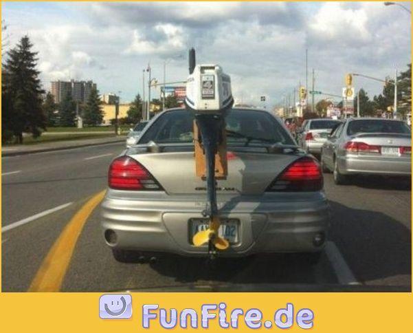 Außenbordmotor für Auto
