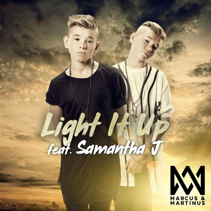 Played Light It Up by Marcus & Martinus #deezer #YDNW1991