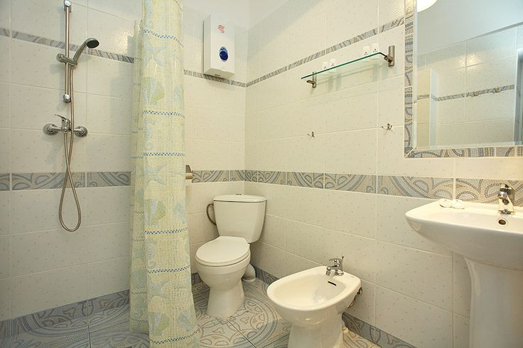 Łazienka w apartamencie Książęcym VI http://apartamenty-florian.pl