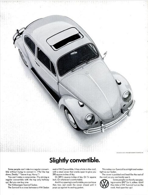 VW BEETLE AD LIFE MAG MAY 13, 1966 by roitberg, via Flickr