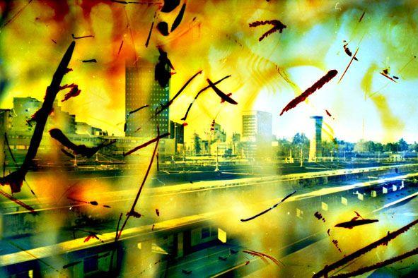 Milano, città interna-stazione Garibaldi#115  Stampa diretta uv su alluminio grezzo tiratura copia 1 di 5  Disponibili nei formati: Cm 20x30 - Cm 26x40 - Cm 33x50 - Cm 46x70 - Cm 66x100 © Simone Durante in vendita da PhotoArt12 info: info@photoart12.com