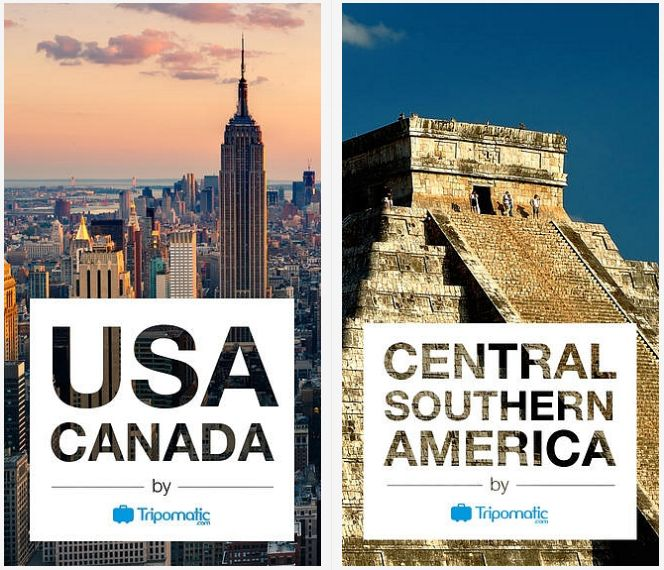 USA & Canada and Central Southern America now available for your iPhone. Enjoy our new guides and offline maps on the go and don't get lost!