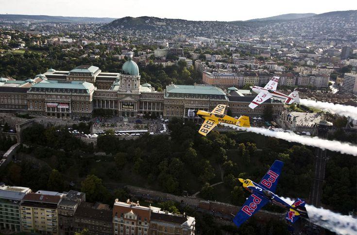flying over Budapest - in memoriam Red Bull Air Race Budapest