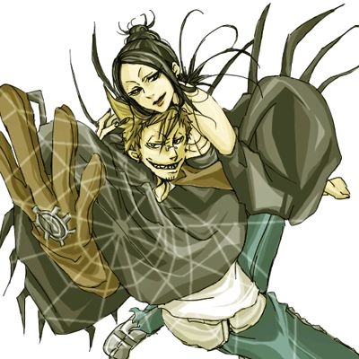 Soul Eater Arachne And Giriko 72 best Arachne...