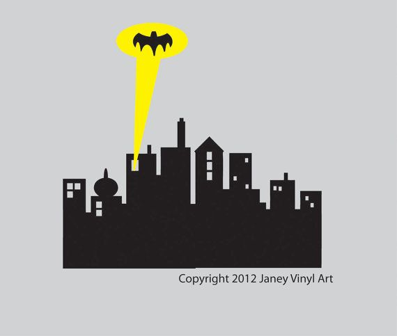 Batman Headboard Decal  Super Hero Room  Batman by JaneyVinylArt, $39.00  Twin Headboard Decal!!!!