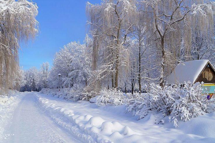 January in Bryansk, Russia