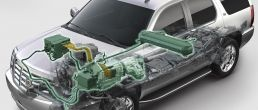 Cadillac Escalade car cutaway