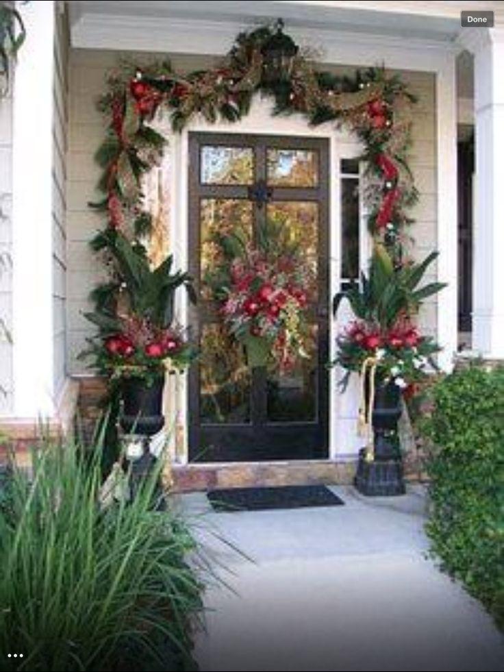 nice decorations seasonal decorations pinterest weihnachtsdeko aussen. Black Bedroom Furniture Sets. Home Design Ideas