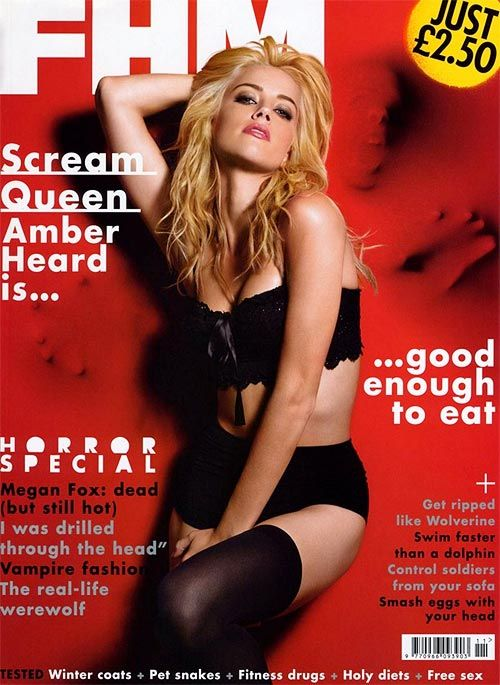 Johnny Depp's New Girl: Just Who Is Amber Heard? - Rediff.com Movies