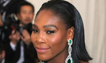 Met Gala 2017: Serena Williams Graces The Red Carpet In Green For Her First Maternity Style Moment | The Huffington Post