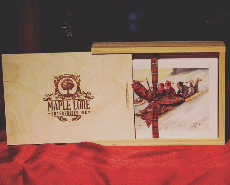 Wooden Box gift set.