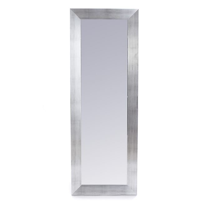 Oakland Miroir Rectangulaire Effet Acier Brosse 40x140cm Home Decor Mirror Decor