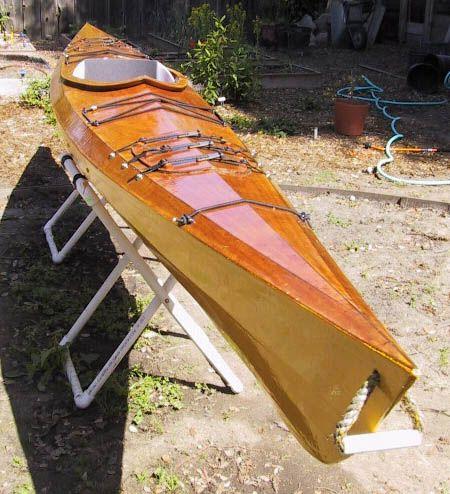 Canoagem e Expedições: Construção de um caiaque oceânico de madeira - I…