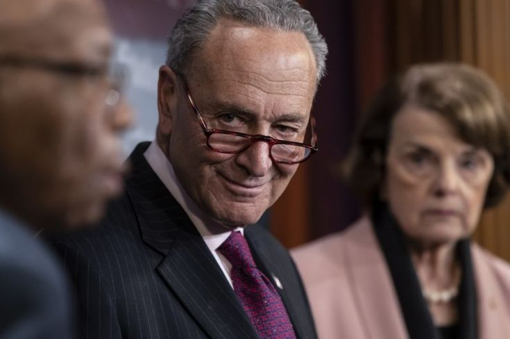 Chuck Schumer a very devious low life