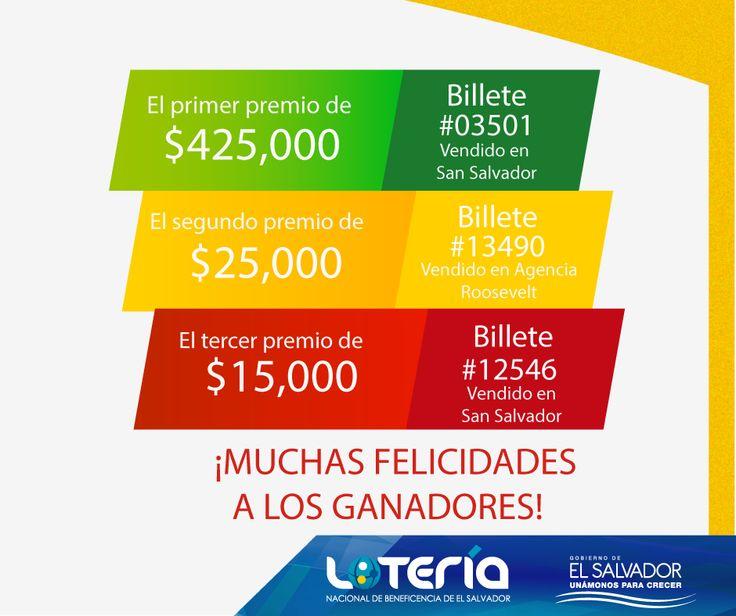 Resultados sorteo Extraordinario Nº 165 del miercoles 4-11-15. http://wwwelcafedeoscar.blogspot.com/2015/11/loteria-nacional-de-el-salvador.html