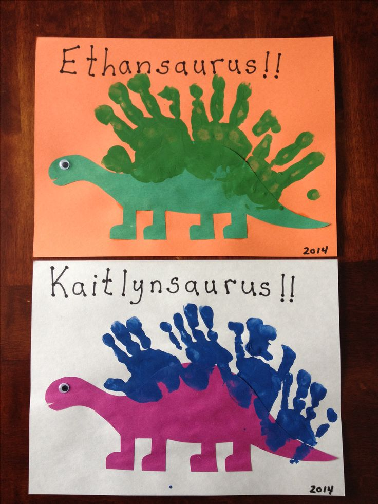 Handprint Dinosaurs                                                                                                                                                      More