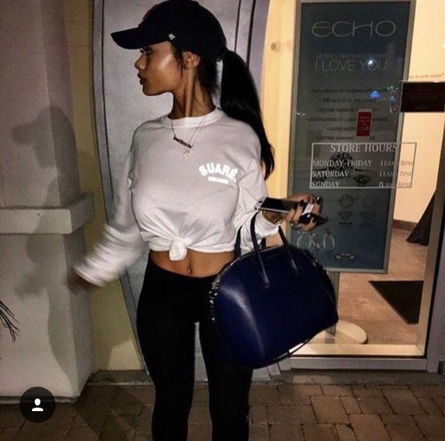 Sporty and exotic ebony island girl teasing - 1 1
