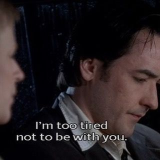 Top 100 famous movie quotes photos Love this film! In more ways than one #highfidelity #soundtrack #imtootirednottobewithyou #famousmoviequotes  what came first, the music or the misery? #classic #johncusack #jackblack See more http://wumann.com/top-100-famous-movie-quotes-photos/