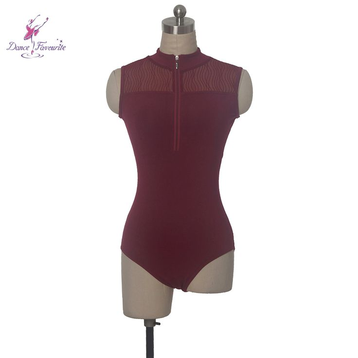 Find More Ballet Information about 2017 Free Shipping Modena Dance Leotard with Zipper on Front Women's Ballet Dance Wear Mesh Leotards 5 Sizes for Choose DF006,High Quality leotard tutu,China leotard ballet Suppliers, Cheap leotards dance from Love to dance on Aliexpress.com