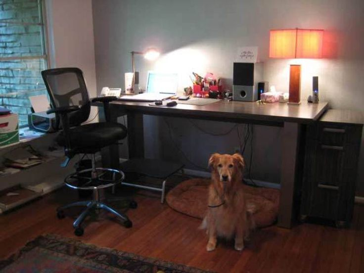 Fabulous Modern Style Wooden Floor Office Decorating Ideas For Men With  Minimalist Furniture Decoration And Neutral Interior Decor