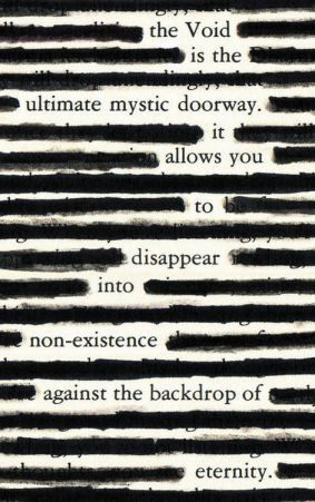 Image result for blackout poems
