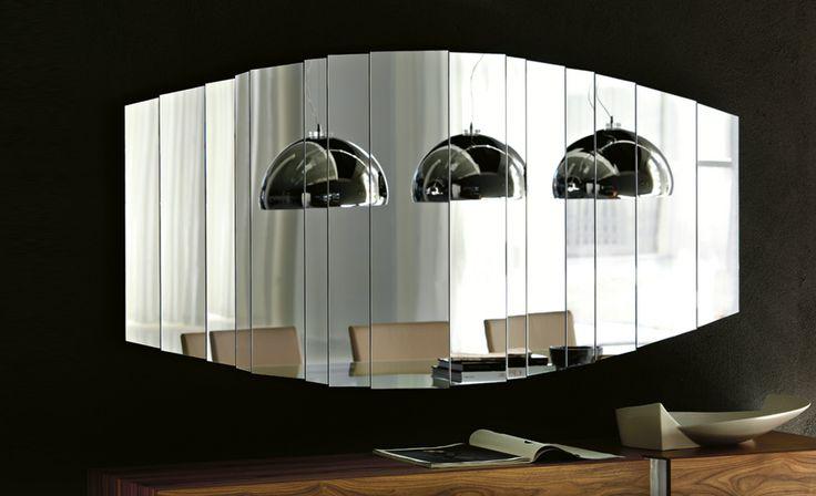 mirror _ cattelan italia _ stripes