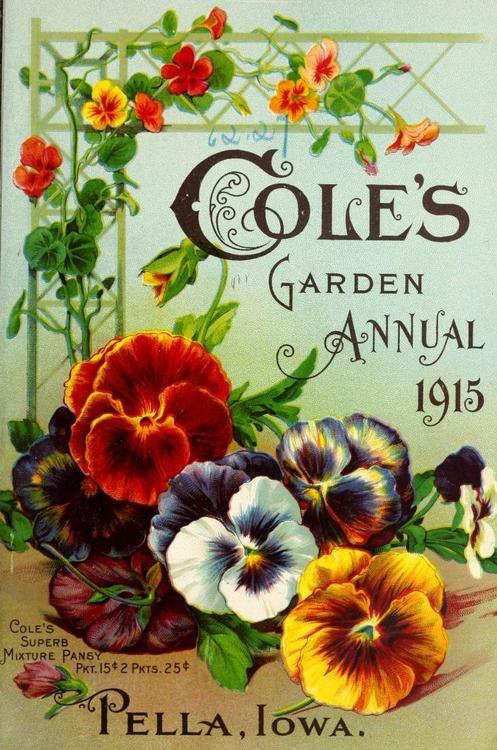 1915 Cole's Garden Annual