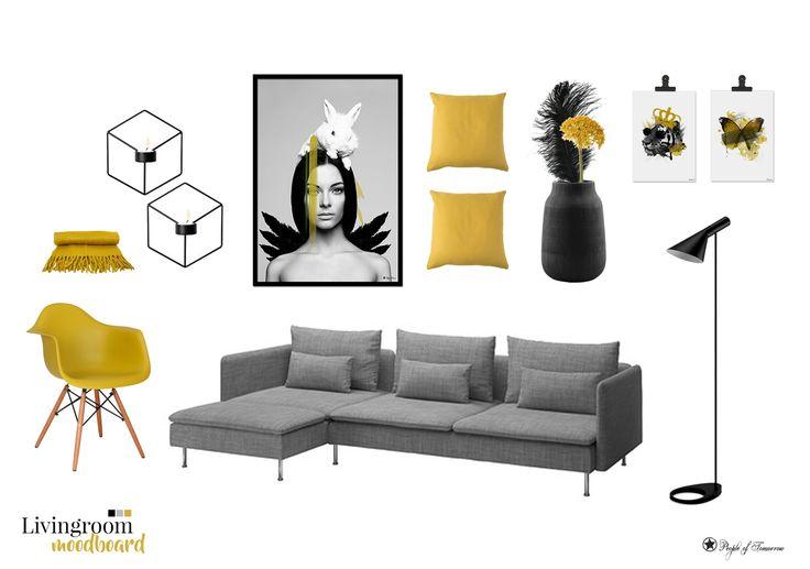 Livingroom moodboard./ #moodboard