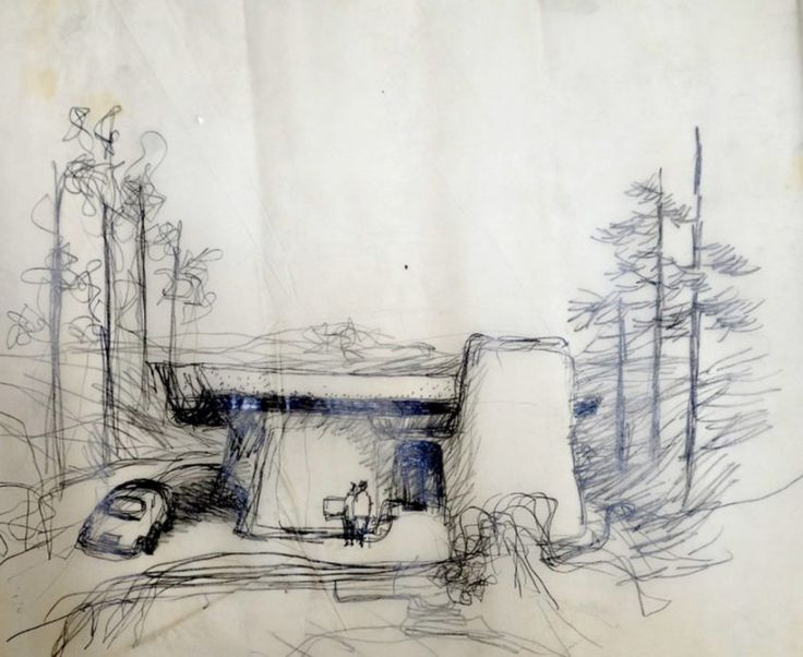 Drawing by Frank Gehry