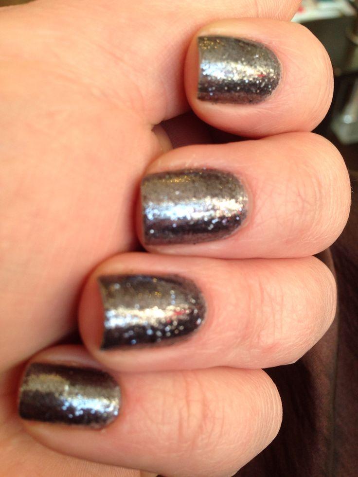 Gunmetal glitter  #orlyfx #nailart #nails