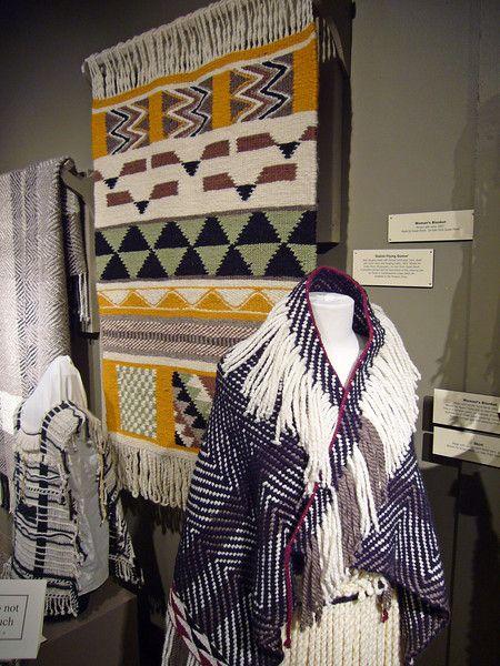 Coastal Salish Weaving Exhibit - travelling-knitter