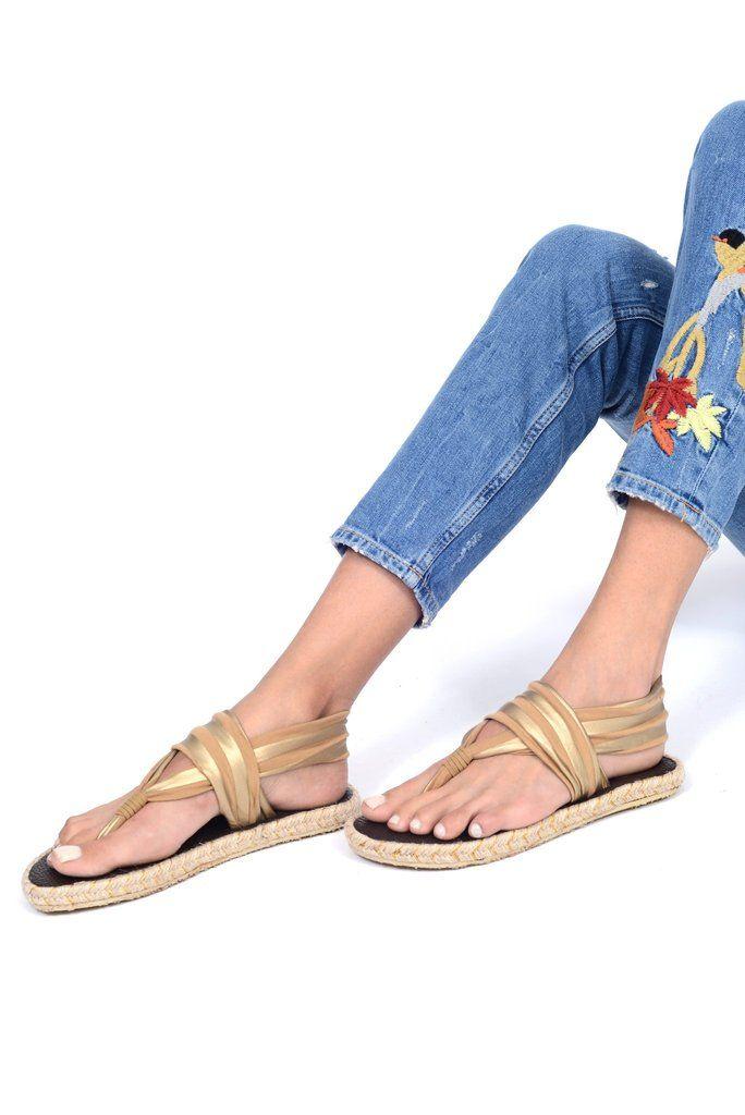 074fc6128 Nalho Ganika Metallic Espadrilles, Comfortable Sandals, Strap Sandals,  Footwear, Stylish, Shoe