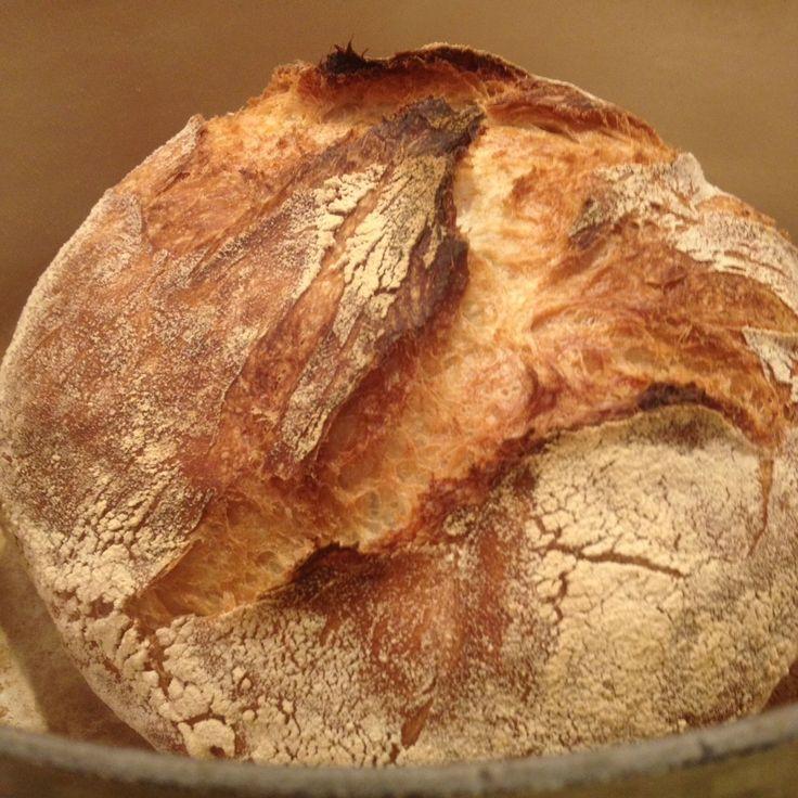 Najprostszy chleb na drożdżach @ http://allrecipes.pl