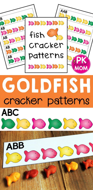 Free Goldfish Pattern Cards Preschool Patterns Preschool Pattern Activities Pattern Cards Preschool [ 1500 x 735 Pixel ]