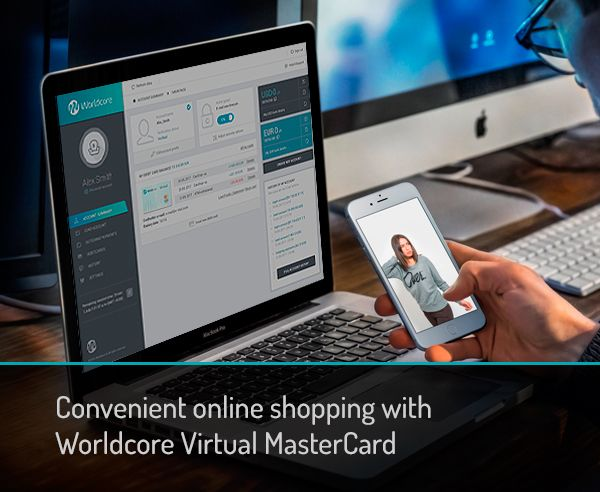 Worldcore Virtual Cards available now! #shopping #online #onlineshop #virtualcard #MasterCard #debitcard #worldcore #onlinepayments #onlinepaymentgateway #onlinewiretransfer