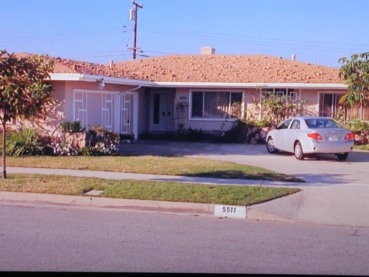 Enlightened TV show house as-seen-on TV is a mid-century beauty