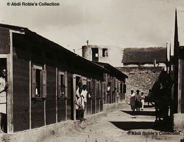 """Italian Fascist Concentration Camp in Danane """"Dhanaane"""", Somalia Date of establishment 1935 Date of disestablishment 1941 Estimated number of prisoners 6,000 Estimated number of deaths 3,175 """"Italian concentration camps include camps from the Italian colonial wars in Africa as well as camps for the civilian population from areas occupied by Italy during WW II. Memory of both camps were subjected to """"historical amnesia"""".  Source   © Campifascisti  Circa 1940-41   © Abdi Roble's Collection"""