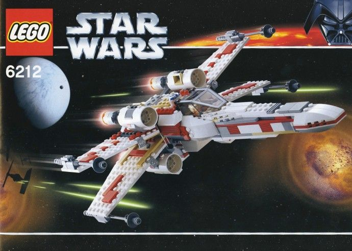 6212: X-wing Fighter #2006