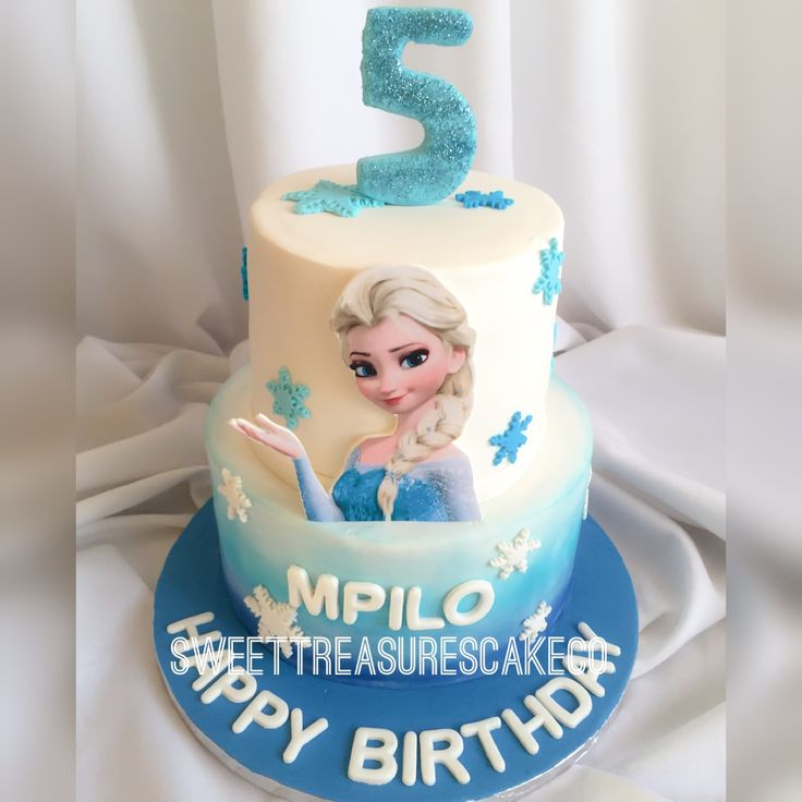 Made this cutie for Mpilo who turned 5 . #frozen #movie #chocolate #cake #themedcakes #customcakes #kidsparty #celebrations #party #mpilo #5 #sweettreasures #sweettreasurescakeco #joburg #johannesburg