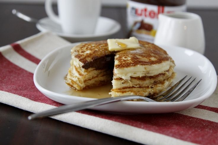 Pancakes and.. Nutella!
