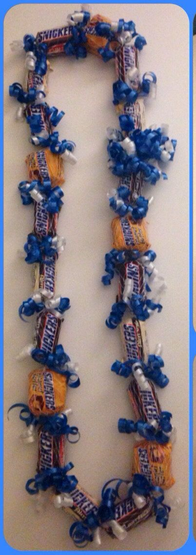 Adult Snickers Lover Candy Lei by IslandCandyLeis on Etsy